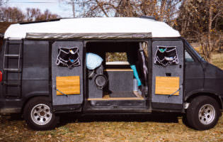 Adventure Van Living Space