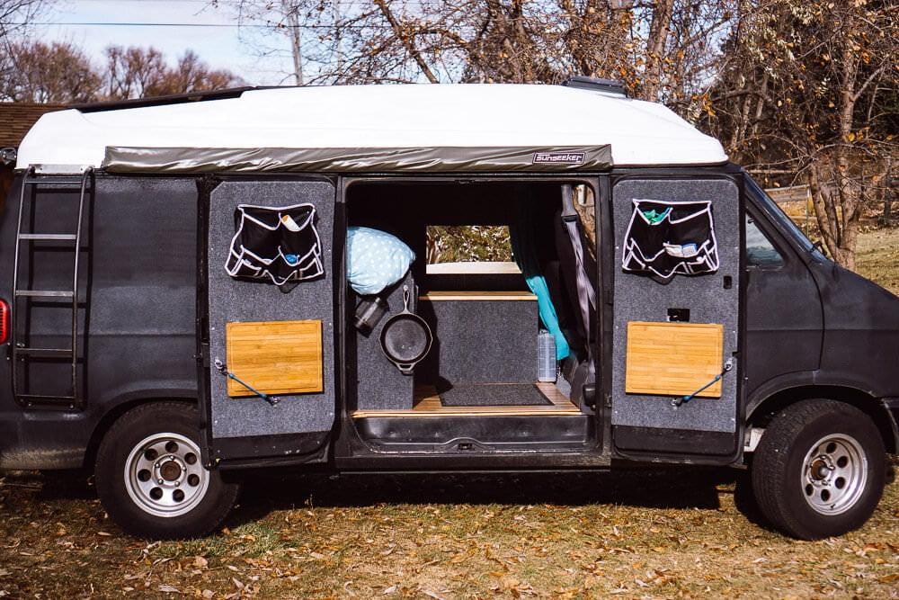 Adventure Van Living Space Walkthrough