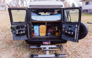 Adventure Van Equipment Summary