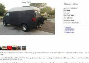Craigslist Van