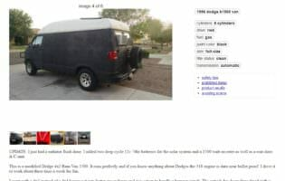 Adventure Vehicle Selection Process