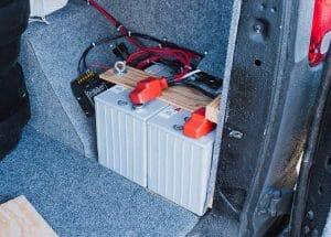 Battery Basics Campervan