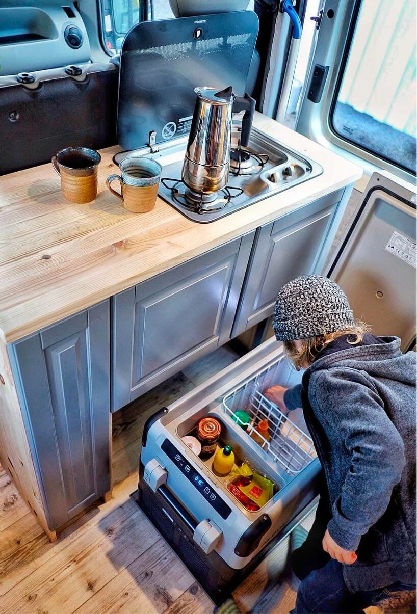 Best Portable Refrigerator For Camping & Camper Van Conversions