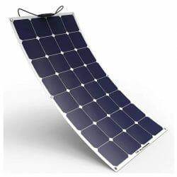 100w Flexible Solar Panels Used In The Van Life