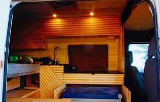 ARB Refrigerator In A Campervan
