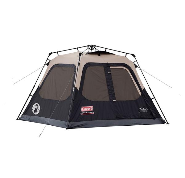 coleman instant popup camping tent
