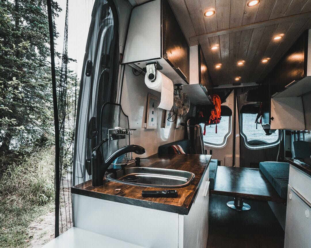 Build A Camper >> DIY Sprinter Van Conversion Ideas | Mercedes Sprinter ...