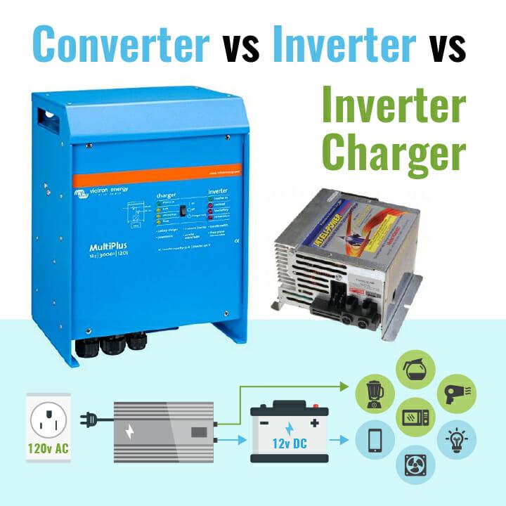 Converter Vs Inverter Vs Inverter Charger