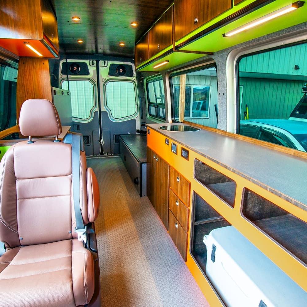 Converting ford transit camper