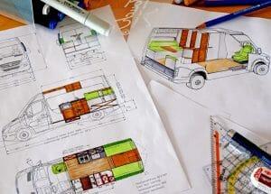 Designing A Campervan Layout For A Diy Camper Van Conversion