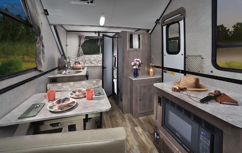 Explore Flagstaff A-Frame Camper with Bathroom