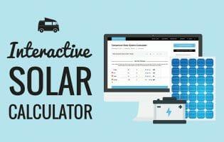 Solar Panel System Size Calculator