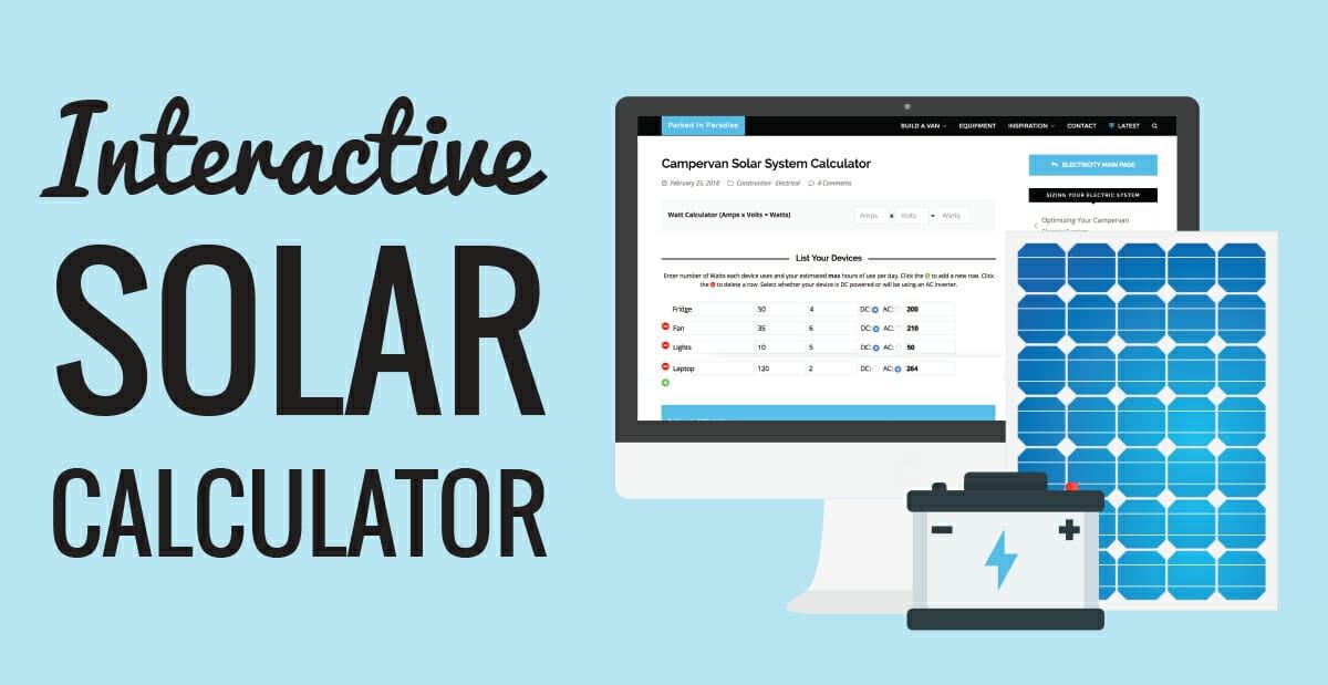 solar panel system kit calculator