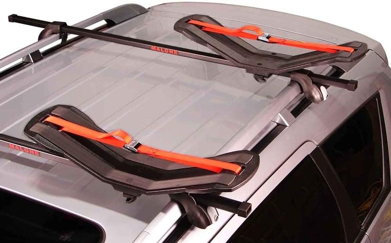 kayak roof rack saddles