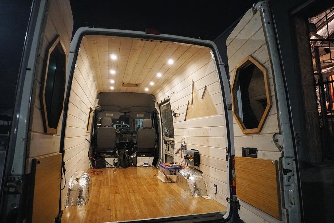 advice on building a diy camper van