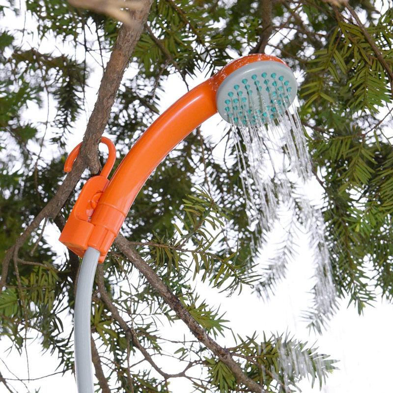 pressurized camping shower