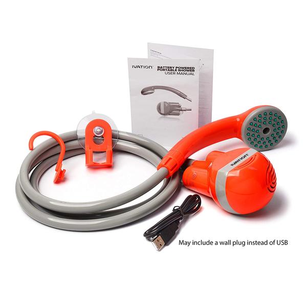 portable sprayer shower for outdoor travel