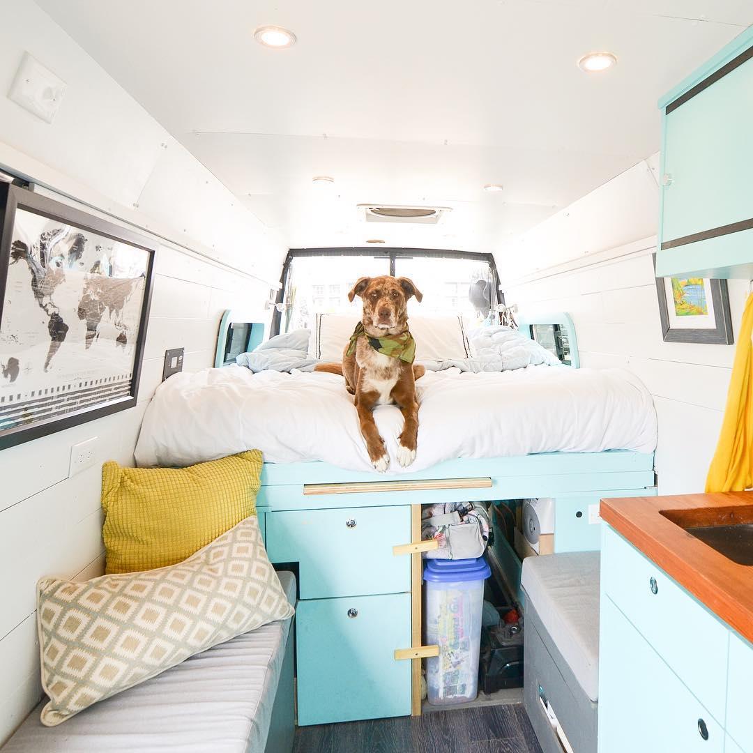 DIY Sprinter Van Conversion Ideas | Mercedes Sprinter