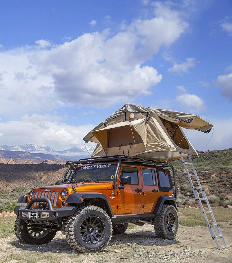 Smittybuilt Overlander RTT rooftop camping tent