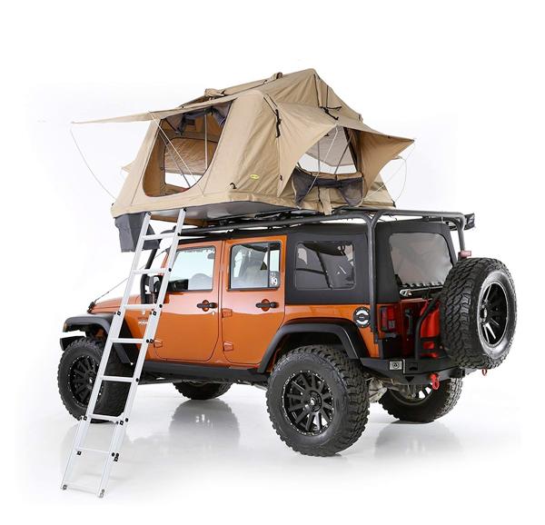Smittybuilt overlander roof top tent