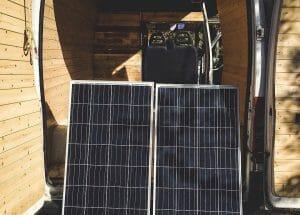 Solar Power System For A Van