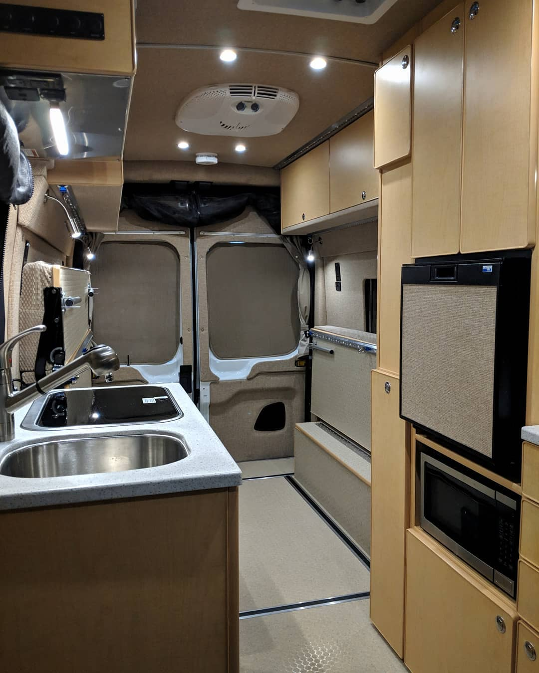 Transit camper conversions