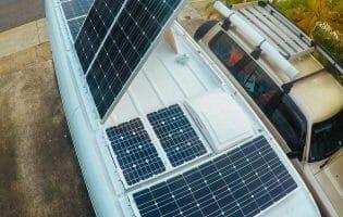 Solar Panel System On Van
